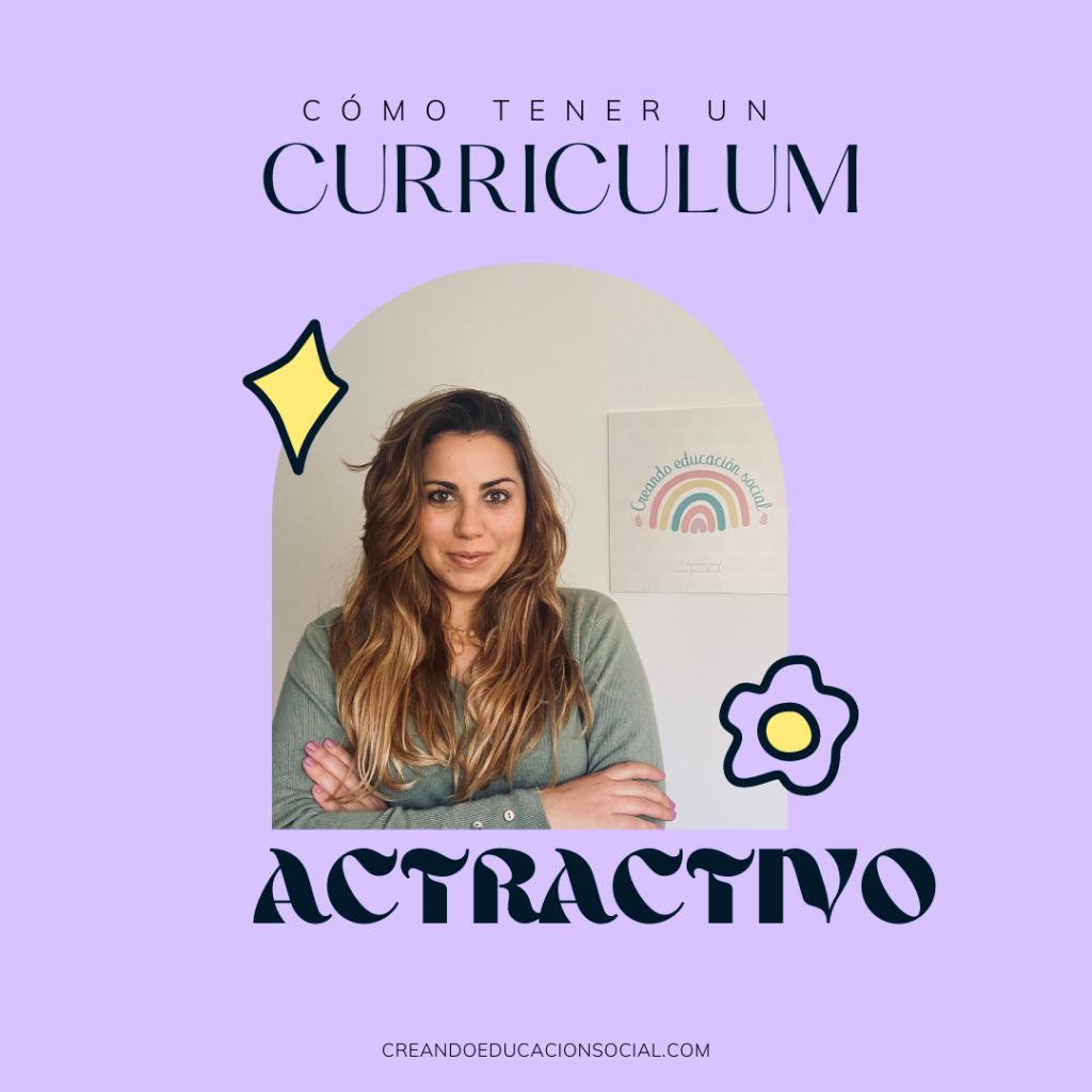 Currículum Vitae atractivo